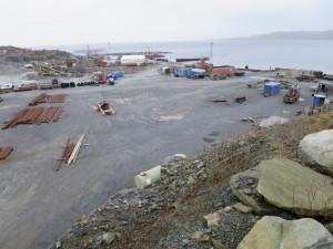 Grov Industritomt på Hanasand / Rennesøy. Brygger og Kaier Sokn AS